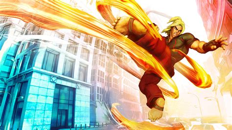 Street Fighter V  Ken Masters Announced With Awesome