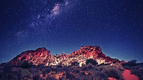 1920x1080 Beautiful Sky Star Landscape 1080p Full Hd