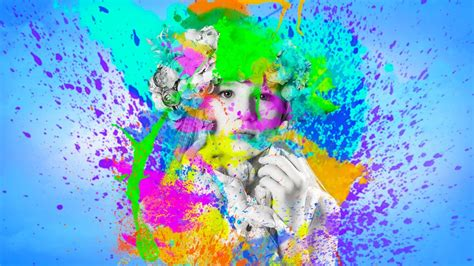create beautiful color splash effect in photoshop cc youtube