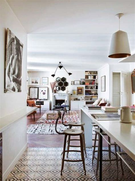 3 Modern Apartments With Chic Rooms For The by Boho Chic Parisian Apartment With A Personality Digsdigs