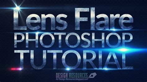 How To Create Lens Flare Brushes — Photoshop Tutorial Youtube