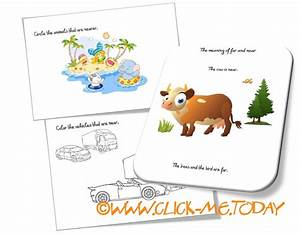 FAR - NEAR WORKSHEETS, Free Activities & Coloring pages