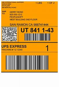 barcode label and reporting software peernet reports With create ups shipping label
