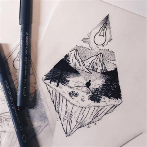 landscape tattoo tumblr