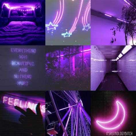 Glow Neon Aesthetic Wallpaper by Taurus Neon Glow Aesthetic Purple Taurus Lay With Me