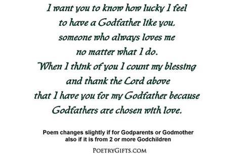 godparent irish blessing gift