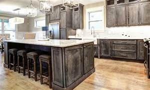 Rustic Shaker Gray Kitchen Cabinets-We ship everywhere