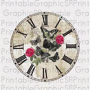 Digital Clock Faces Printables