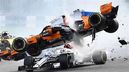 Leclerc Charles Crashes Accident Belgian Gp F1