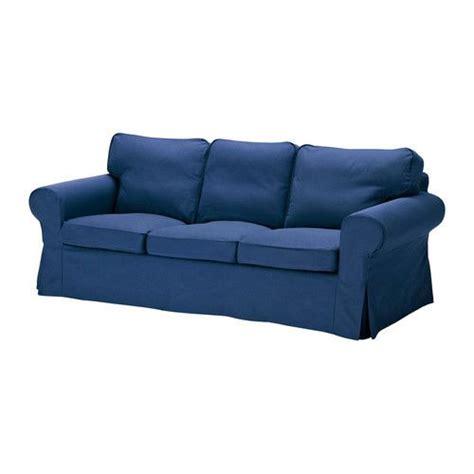 ikea ektorp sofa cover slipcover idemo blue   box