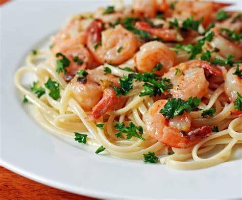 shrimp pasta recipes shrimp sci pasta recipe dishmaps
