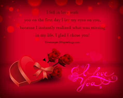 Romantic Love Messages Wife