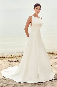 sleek modern wedding dress style 2115 mikaella bridal With sleek wedding dresses