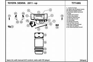 Dl Auto U00ae Toyota Sienna 2011