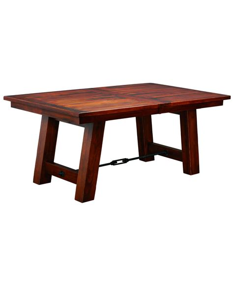 ouray dining table amish direct furniture