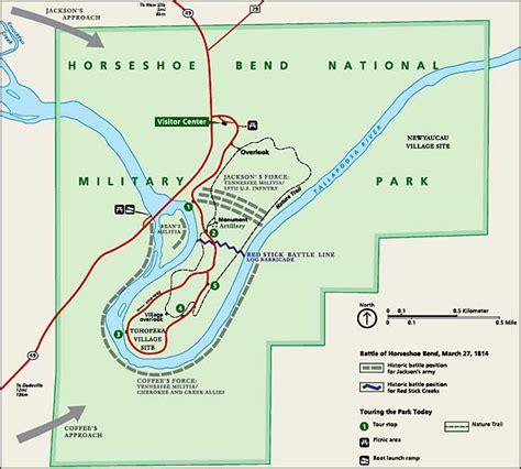 horseshoe bend national military park national park