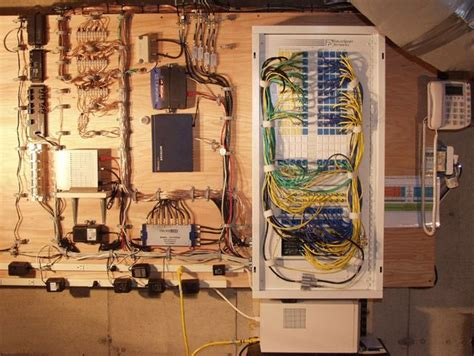 Whole House Structured Wiring Networking Set Ups