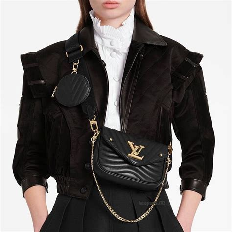 louis vuitton  wave multi pochette bag reference guide spotted fashion