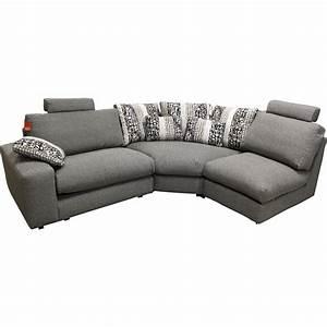 Canapé D Angle Modulable : canape d 39 angle modulable grand confort calisto ~ Melissatoandfro.com Idées de Décoration