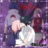 sasusaku KISS (by ShadowCutie) Graphic #4852980 | Blingee.com