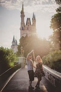 Lee and becca39s magic kingdom honeymoon session this for Walt disney world honeymoon