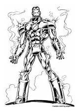 Ironman Coloring Pages Print sketch template