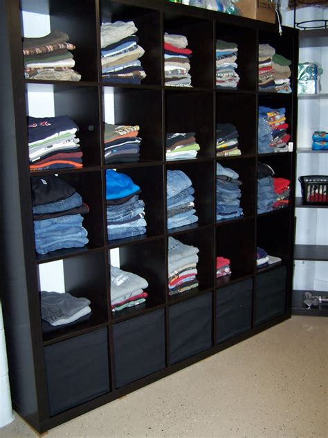 Bookcase For Clothes by Delightful Order Featuring You Ikea S Expedit In The