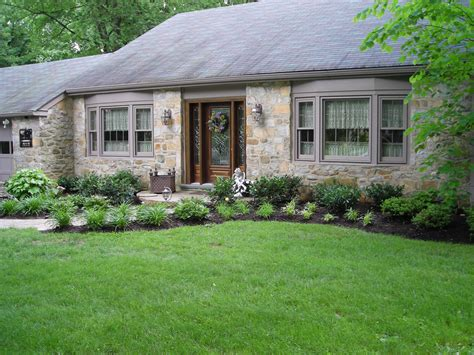 front of house landscape design sandra story