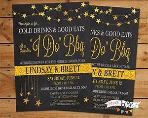 i do bbq wedding shower invitation couples by With bbq wedding shower invitations