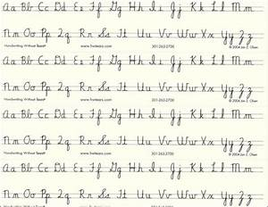 French Cursive Handwriting Worksheets Free Worksheets ...