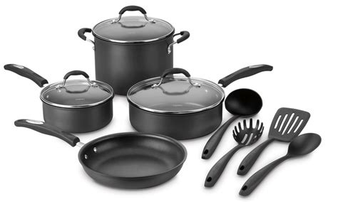 cuisinart kitchen pro cuisinart pro classic cookware set 11 groupon
