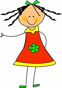 Girl Clip Art Outline | Clipart Panda - Free Clipart Images