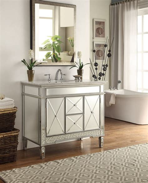 Mirrored Vanities For Bathroom by 1000 Images About Mirrored Bathroom Vanities On