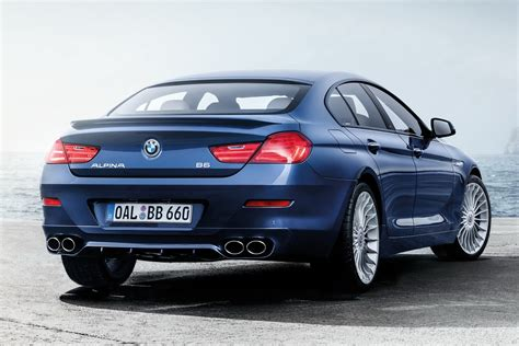 Alpina Facelifts B6 Xdrive Gran Coupe And Gives It 600hp