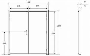 Portes isophoniques iso dps porte acoustique for Porte de garage coulissante et bloc porte pin massif