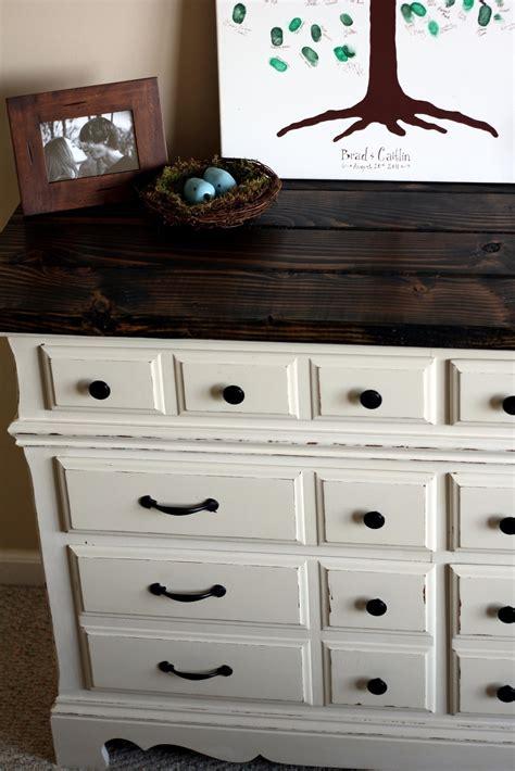 diy dresser  rustic wooden top