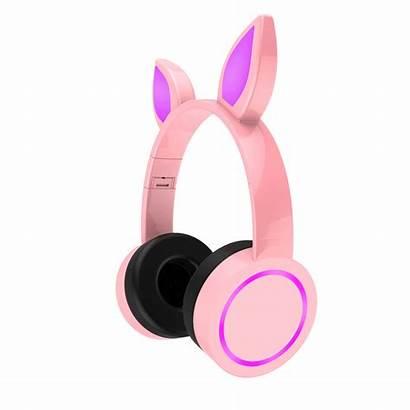 Headphones Cat Ear Wireless Bluetooth Ears Rabbit