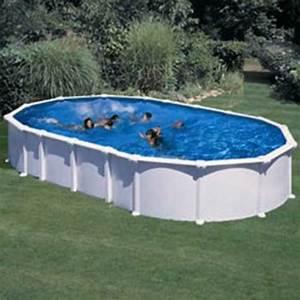 Piscine Hors Sol Chauffée : piscine hors sol haiti gre 800x470 h132 cm filtre sable ~ Mglfilm.com Idées de Décoration