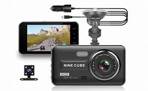 Amazon Com  Dual Dash Cam Front And Rear  Nine Cube 1080p Hd Dashboard Recorder Car Dash Camera