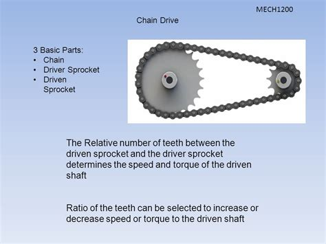 Topics Introduction Drive Chain Types Sprockets Sprocket