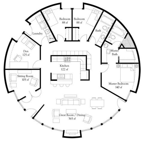home design exquisite rotating dining an engineer 39 s aspect monolithic dome home floor plans