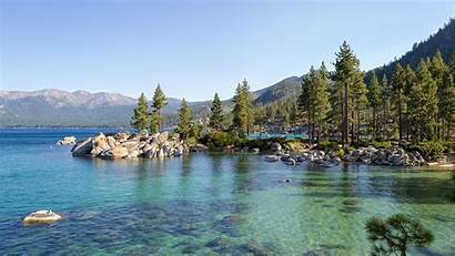 Tahoe Lake Shore West History Geology Summer