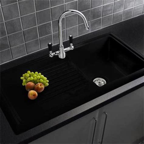black ceramic kitchen sink reginox traditional black ceramic 1 0 kitchen sink and 4658
