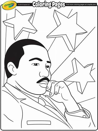 Luther Martin Coloring King Jr Crayola Pages