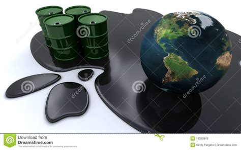 les bidons 224 p 233 trole et le globe se sont repos 233 s en p 233 trole renvers 233 photos stock image 15380843
