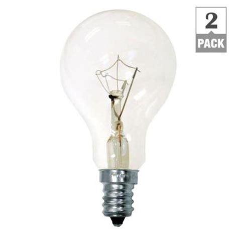 ge 40 watt incandescent a15 ceiling fan candelabra base