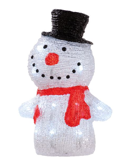 light up snowman indoor light up acrylic santa snowman reindeer christmas outdoor