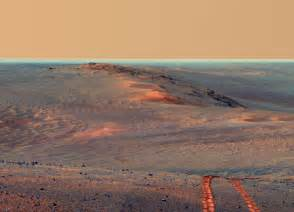 Mars Opportunity Rover Track