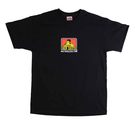 Ben Shirt classic logo t shirts ben davis clothing