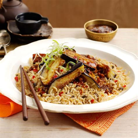 hakka cuisine recipes sichuan aubergine with hakka rice photo 2